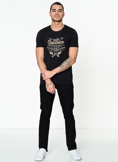 Lee Cooper Baskılı Tişört Siyah